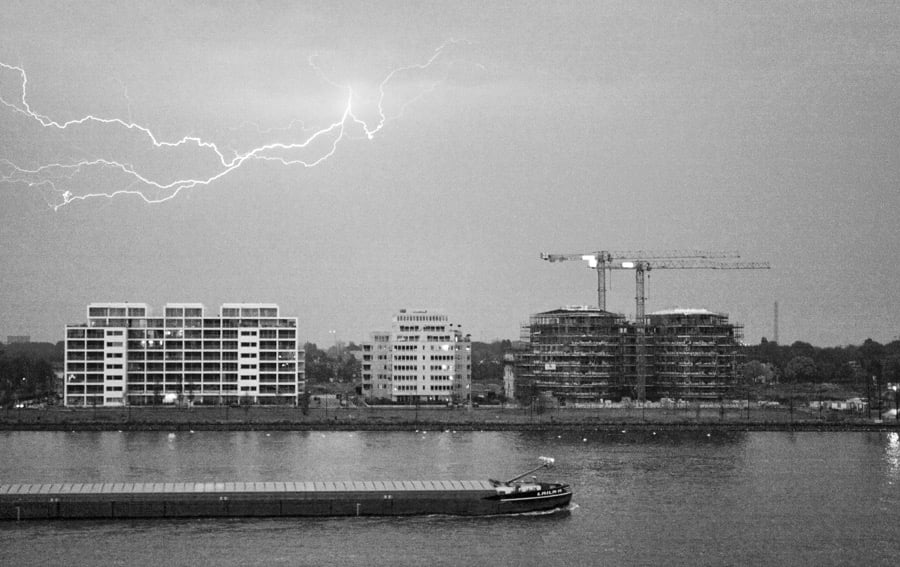 Thunderstorm in Amsterdam