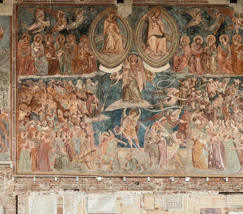 A Mural depicting Judgment Day