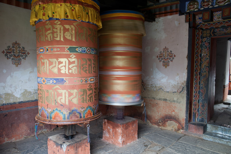 More prayer wheels